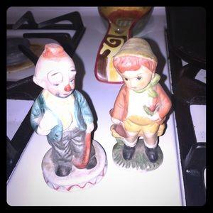 Small ceramic figures
